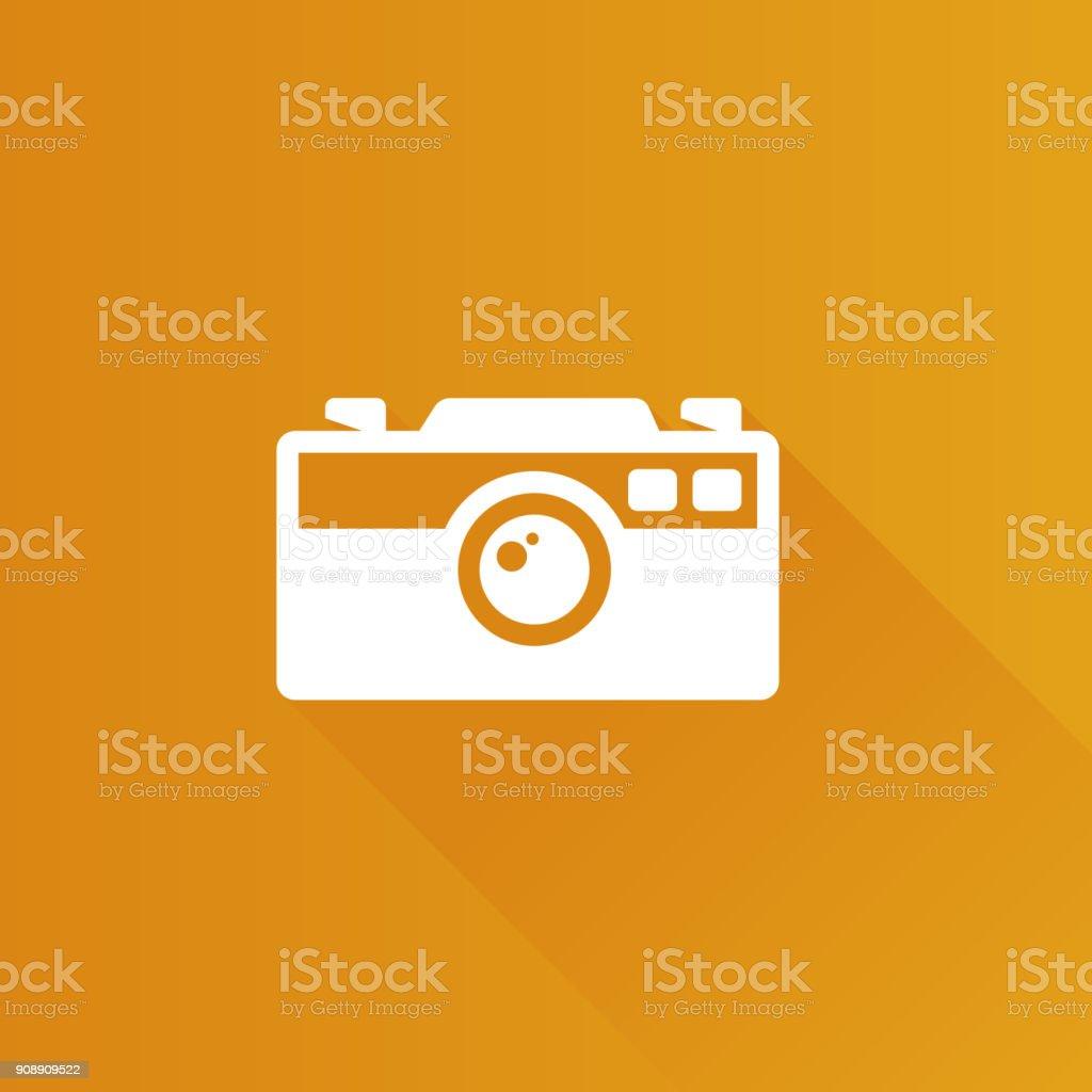 Metro Icon - Camera vector art illustration