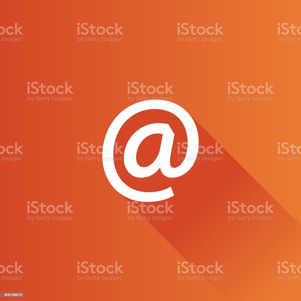 Icône de métro - Email - Illustration vectorielle