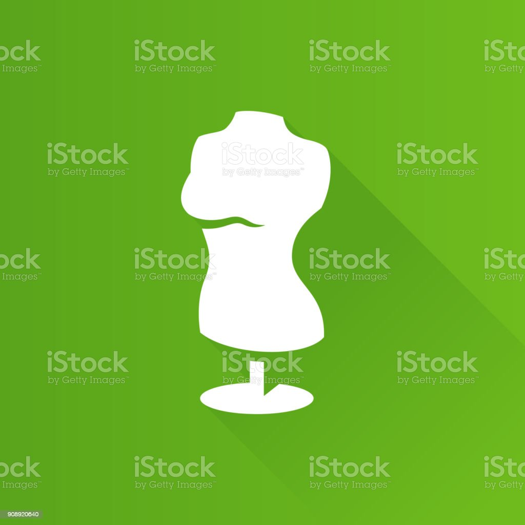Metro Icon - Mannequin vector art illustration