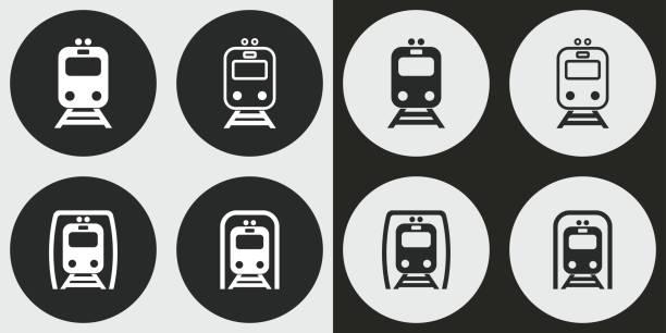 illustrations, cliparts, dessins animés et icônes de icône de métro ensemble. - métro