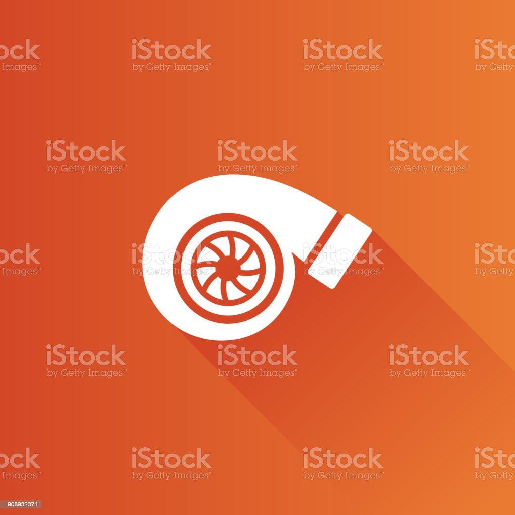 Metro-Symbol - Turbolader – Vektorgrafik