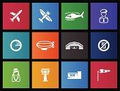 Metro Icons - Aviation