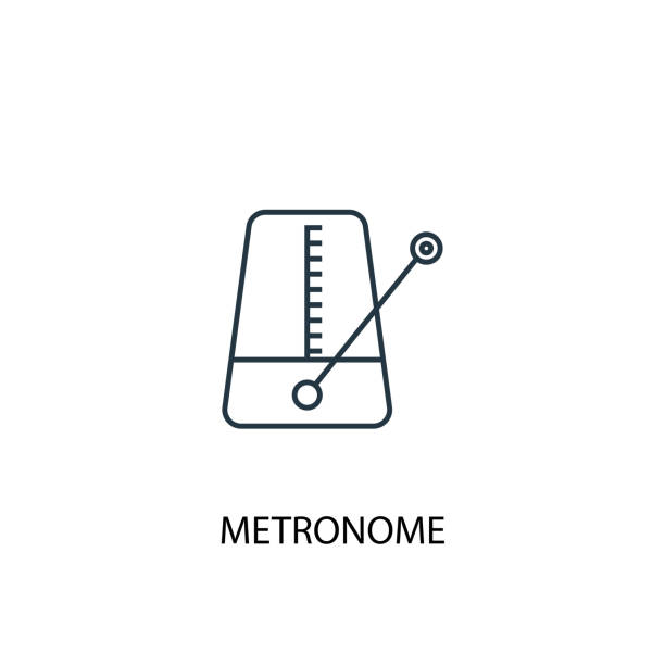 58 Old Fashioned Metronome Clip Art, Vector Graphics and