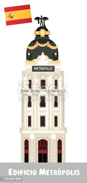 istock Metropolis Building, Edificio Metropolis 1254067909