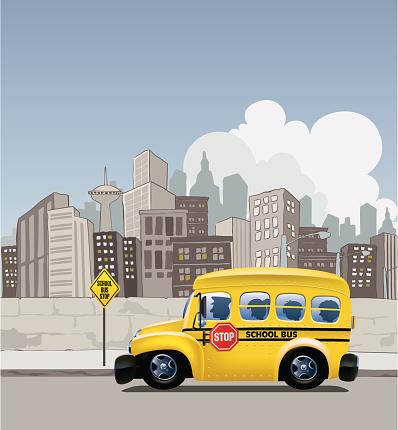 Metropolitan School Bus