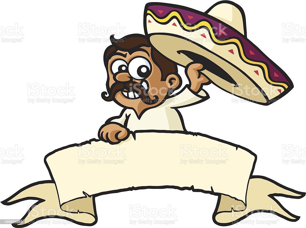Mexican Banner vector art illustration