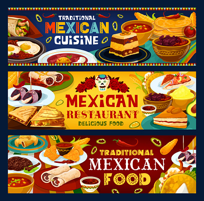 Mexican cuisine, Traditional Mexico food meals