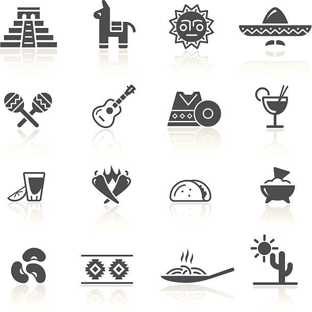 mexican culture & food - mexican food stock illustrations, clip art, cartoons, & icons
