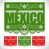 Mexican Cut Out Paper Set