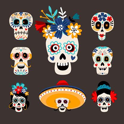 Mexican dead sugar heads