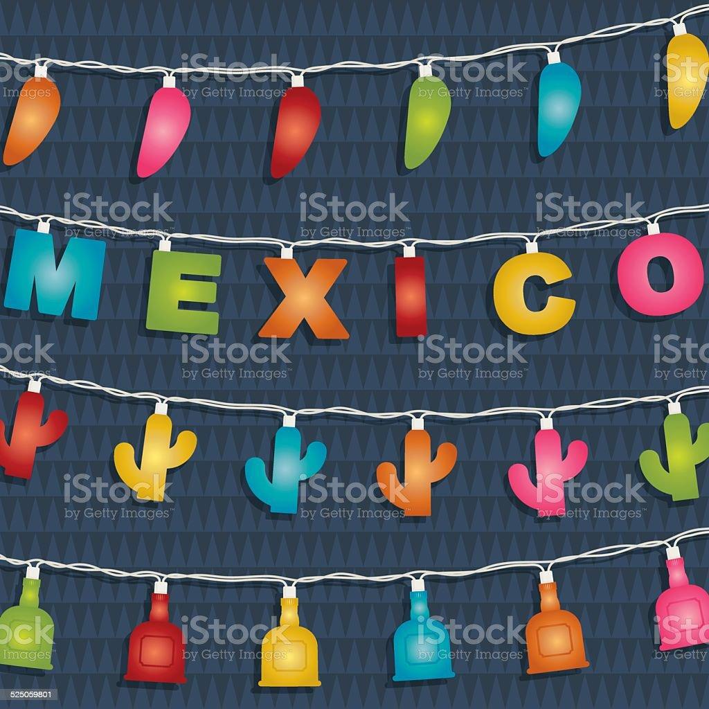 Decora o do m xico arte vetorial de stock e mais for Mexikanische dekoration