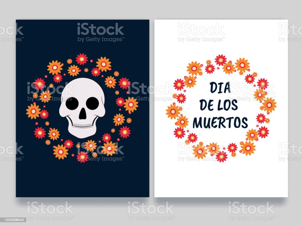 Mexican festival dia de los muertos celebration concept greeting mexican festival dia de los muertos day of the dead celebration concept greeting card m4hsunfo