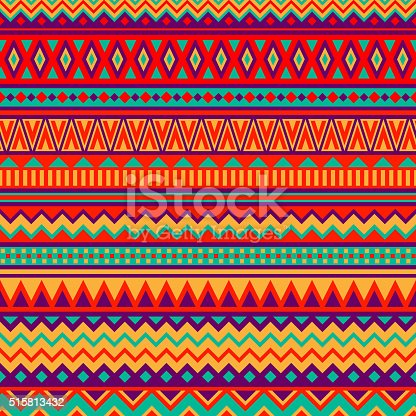 istock Mexican Folk Art Patterns 515813432