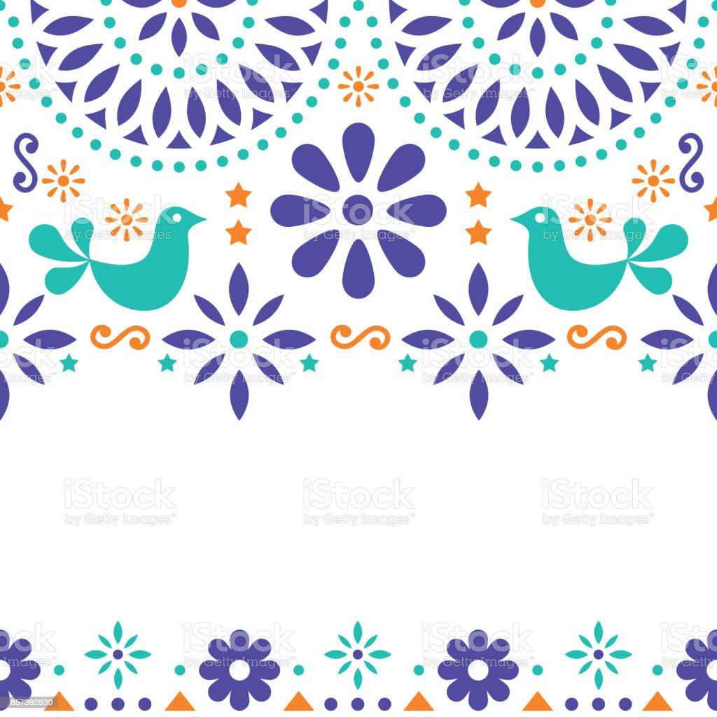 Invitation Party Wedding Free Vector Graphic On Pixabay: Mexican Folk Art Vector Greeting Card Retro Wedding Or