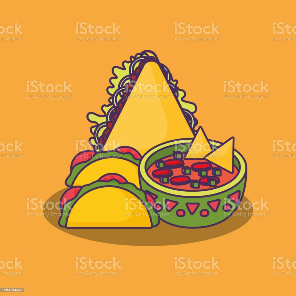 Mexican food design royalty-free mexican food design stock illustration - download image now