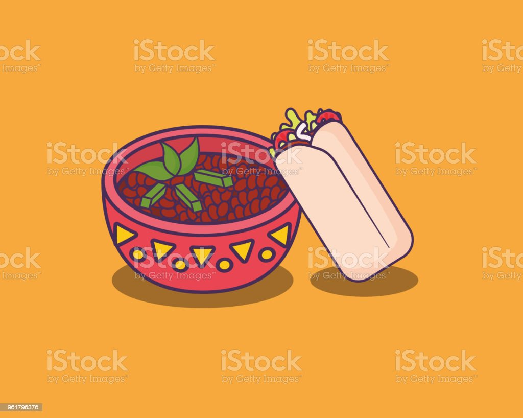 Mexican food design royalty-free mexican food design stock vector art & more images of bean