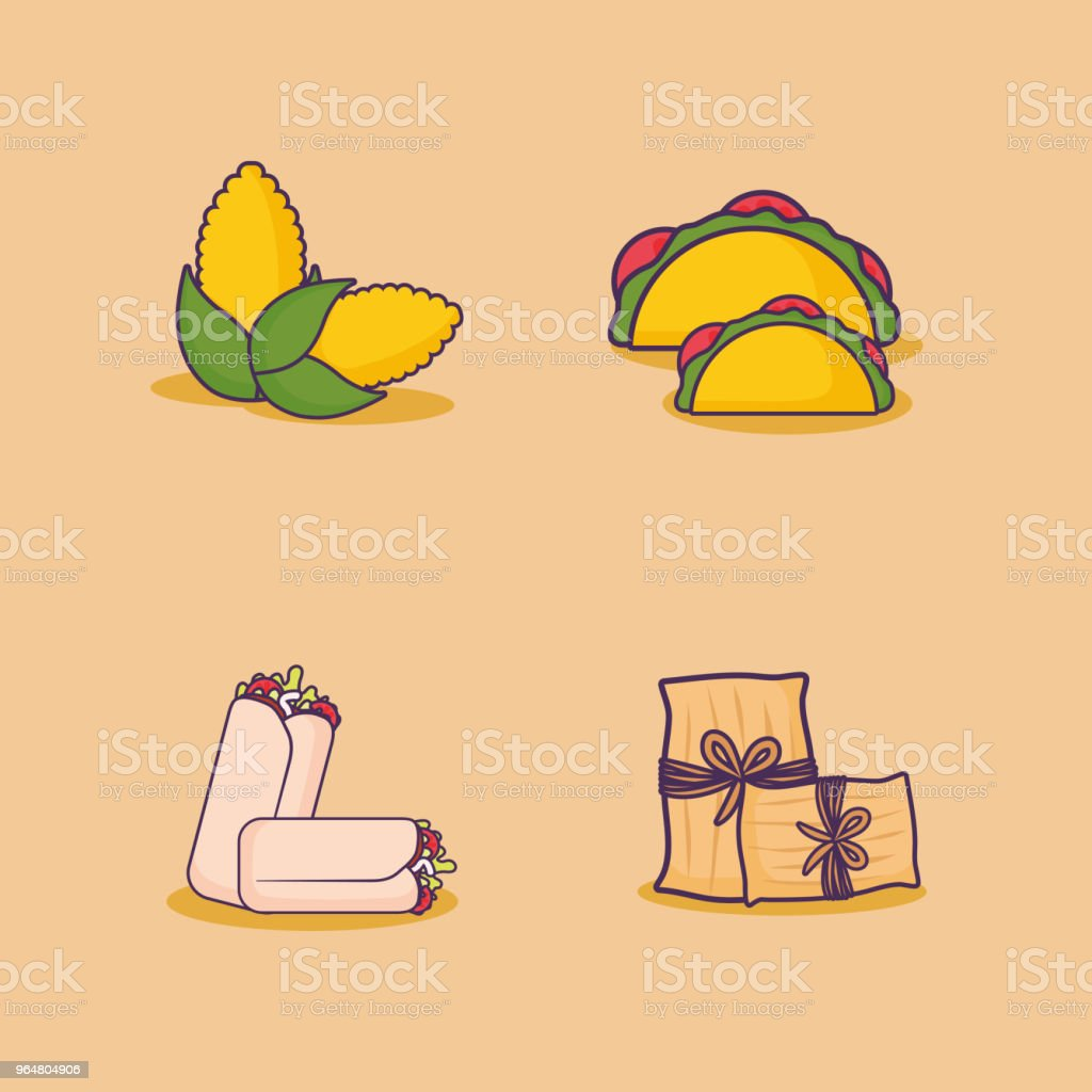 mexican food design royalty-free mexican food design stock vector art & more images of burrito