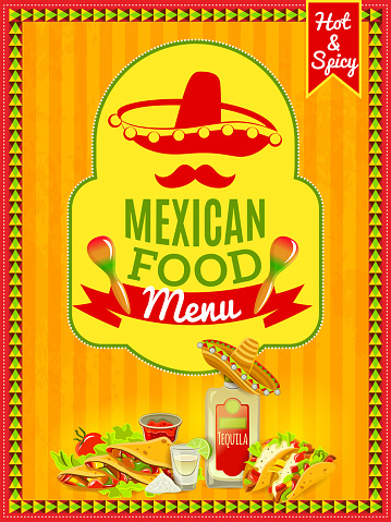 mexican food poster