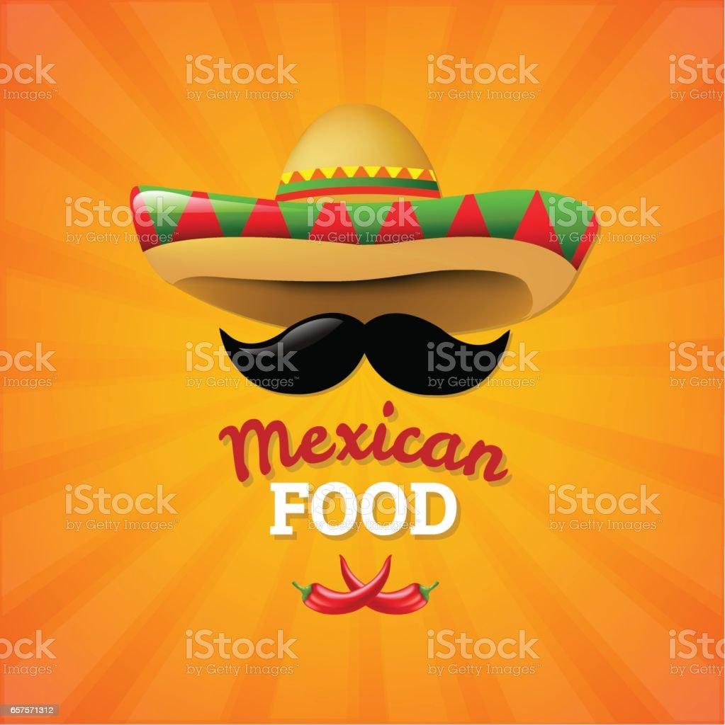 Comida mexicana  - ilustración de arte vectorial