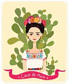 Mexican girl - Illustration