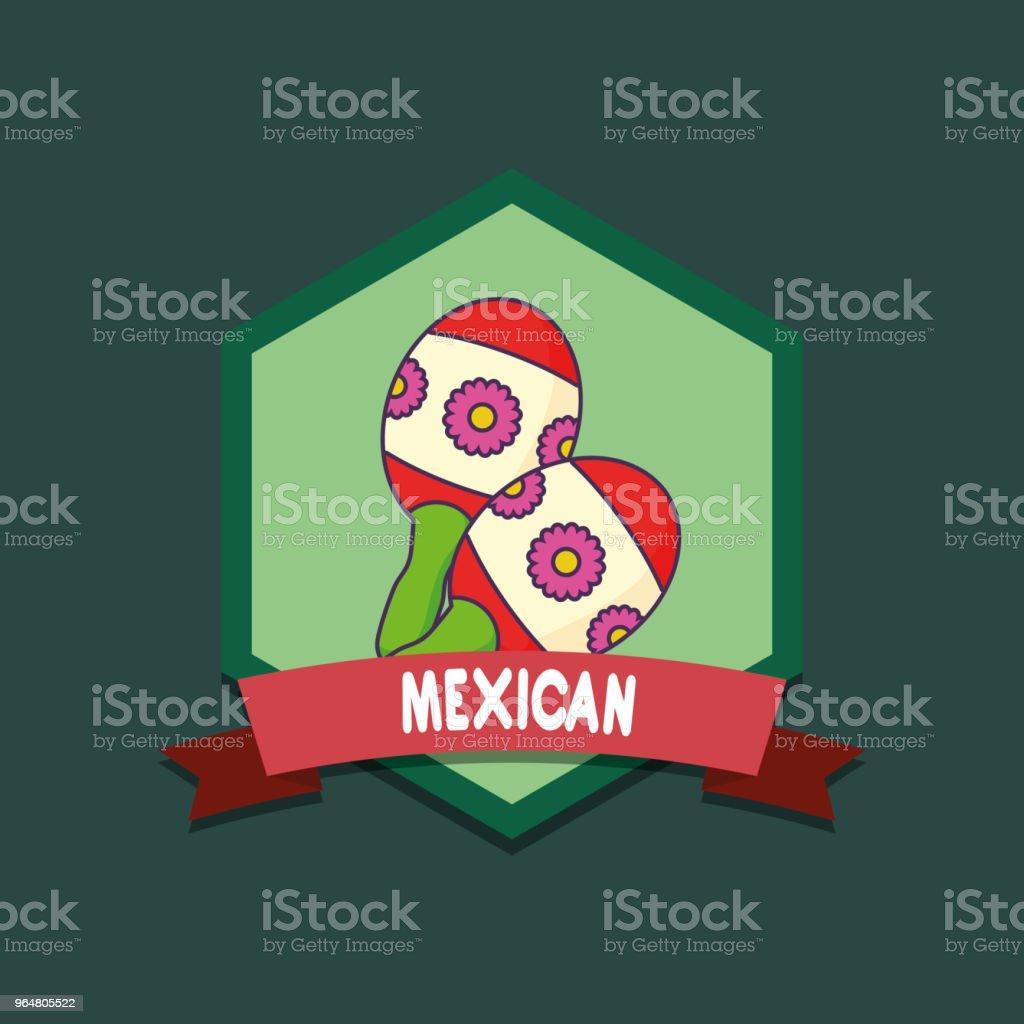 mexican maracas design royalty-free mexican maracas design stock vector art & more images of banner - sign
