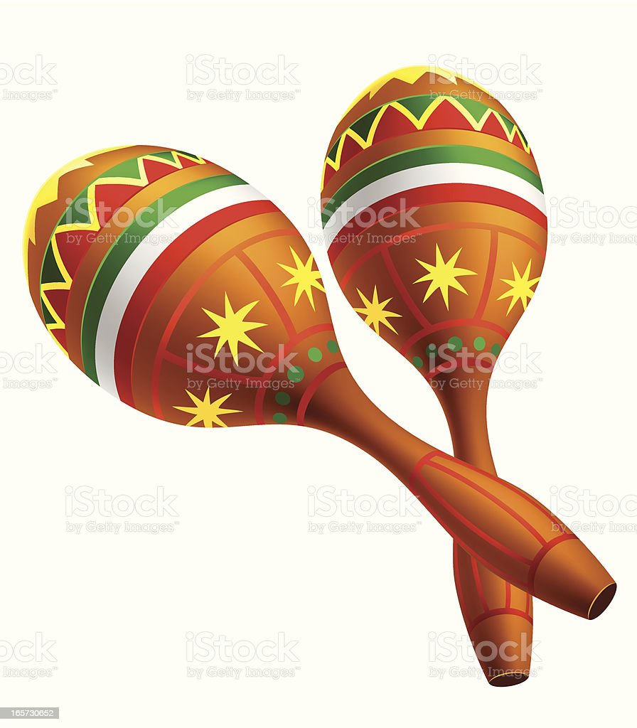Mexican Maracas Stock Vector Art & More Images of Arts Culture and ...