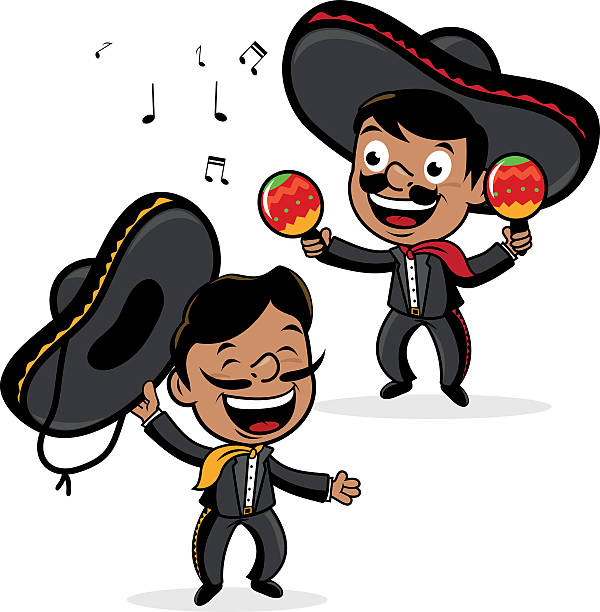 Royalty Free Mexican Band Clip Art, Vector Images ...