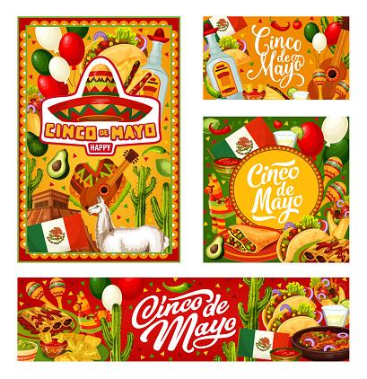 Mexican party Cinco de Mayo celebration party