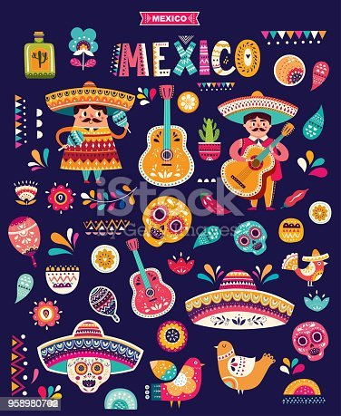 istock Mexican pattern 958980702