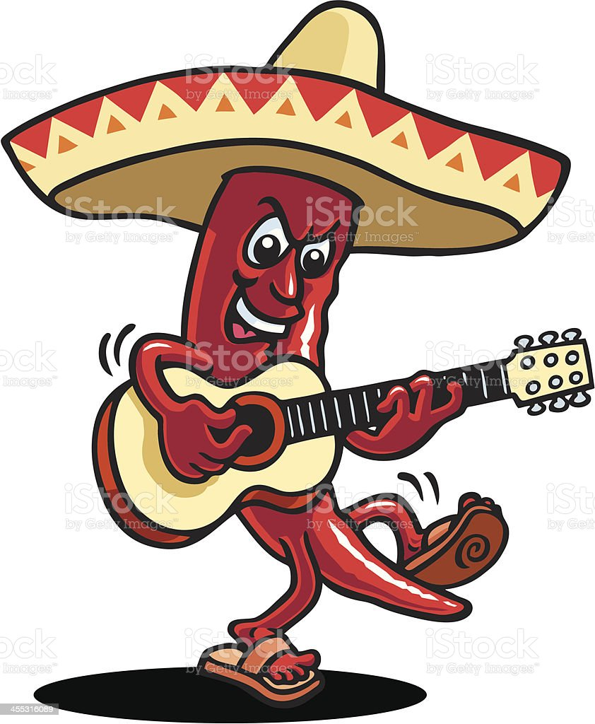 Mexican Pepper royalty-free mexican pepper stock vector art & more images of arts culture and entertainment