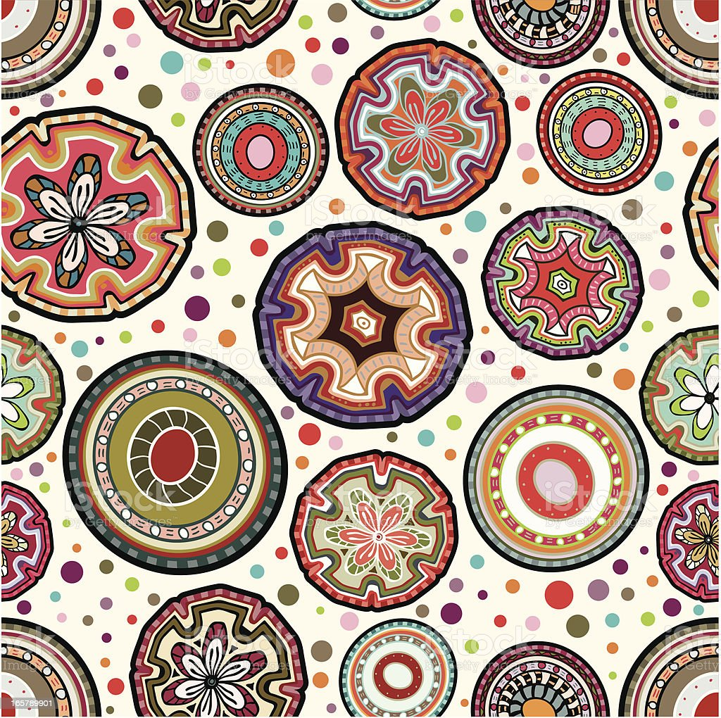 Mexican seamless circular wallpaper royalty-free mexican seamless circular wallpaper stock vector art & more images of abstract