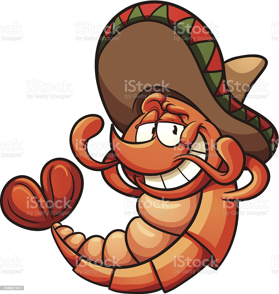 royalty free mexican shrimp clip art vector images illustrations rh istockphoto com Pizza Clip Art Pizza Clip Art