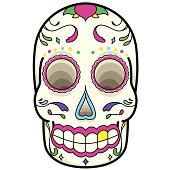 Day of the dead Mexican celebation.