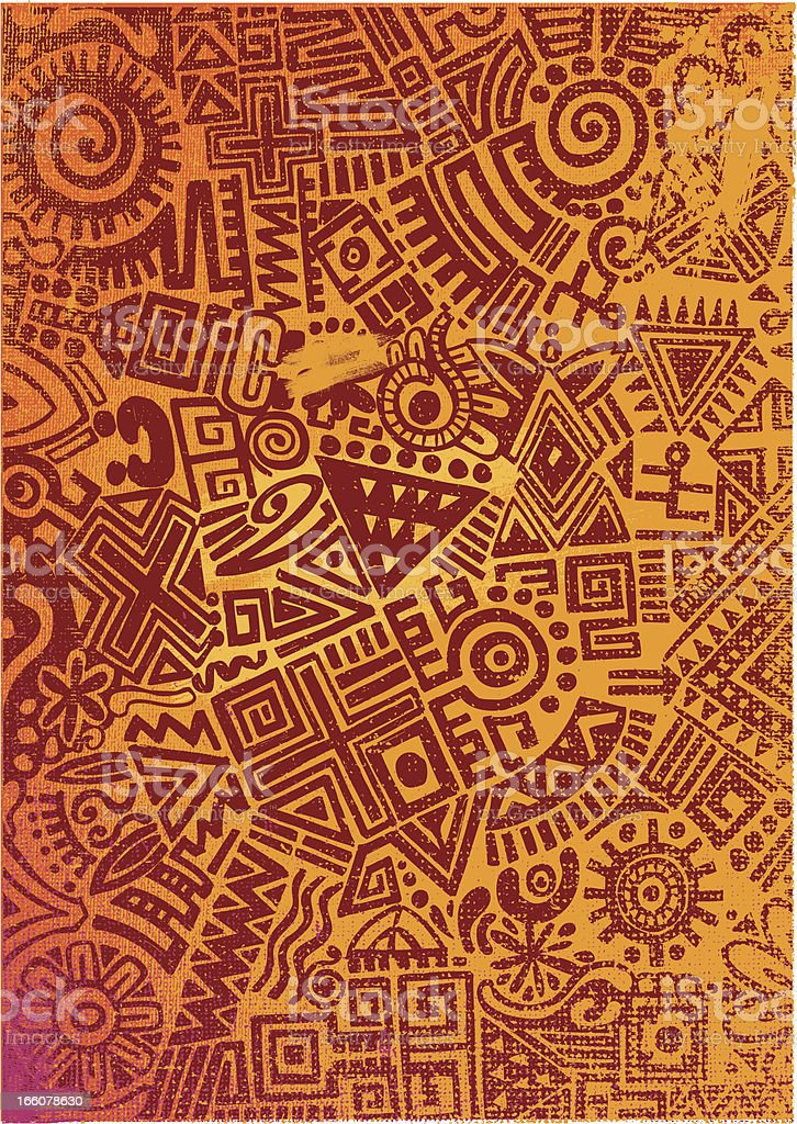 mexican style pattern royalty-free stock vector art