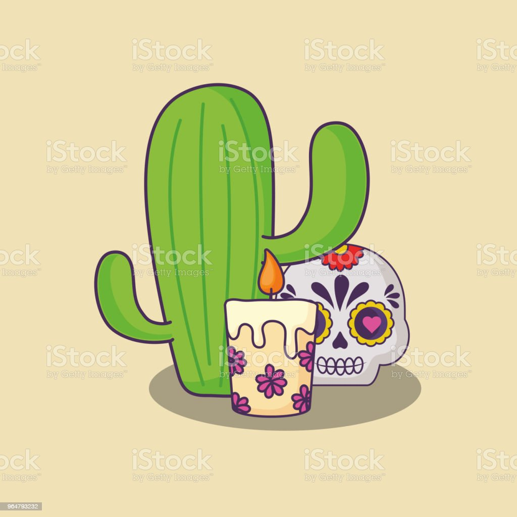 Mexican sugar skull design royalty-free mexican sugar skull design stock vector art & more images of art