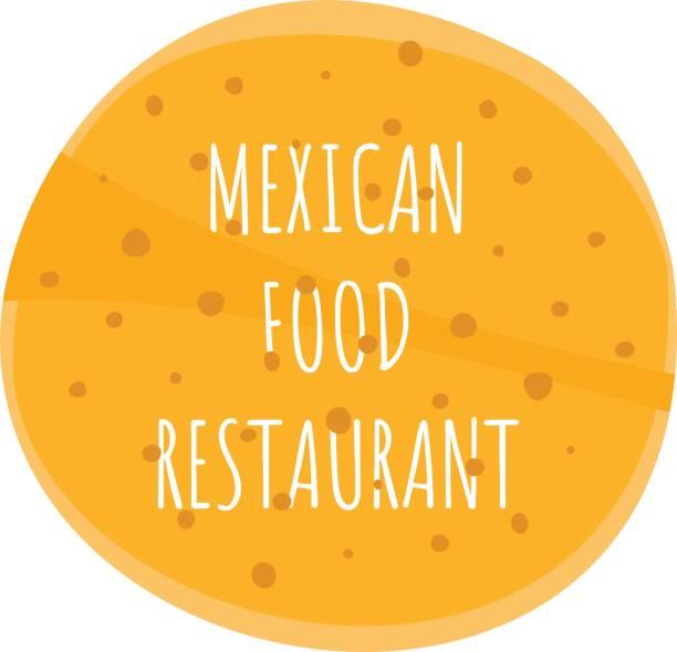 mexikanische tortillas rahmen oder hintergrund für text - tortillas stock-grafiken, -clipart, -cartoons und -symbole