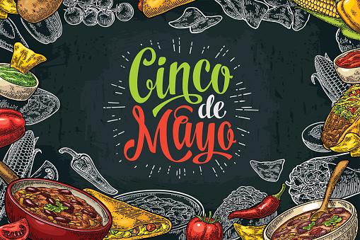 Cinco de Mayo stock illustrations