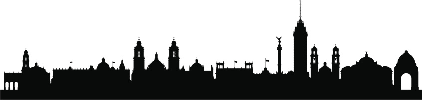 Mexico City Skyline (Complete, Detailed, Moveable Buildings)