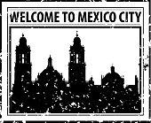 istock Mexico City Stamp 1337936788