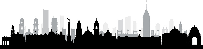 Mexico City (All Buildings Are Complete and Moveable)