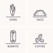 Mexico culture set