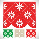 Mexico – Cut Out Paper Chain Template