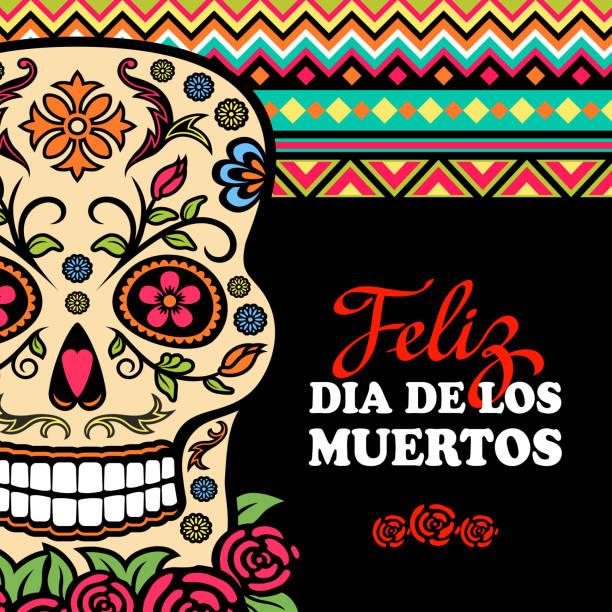 Mexiko-Day of the Dead – Vektorgrafik