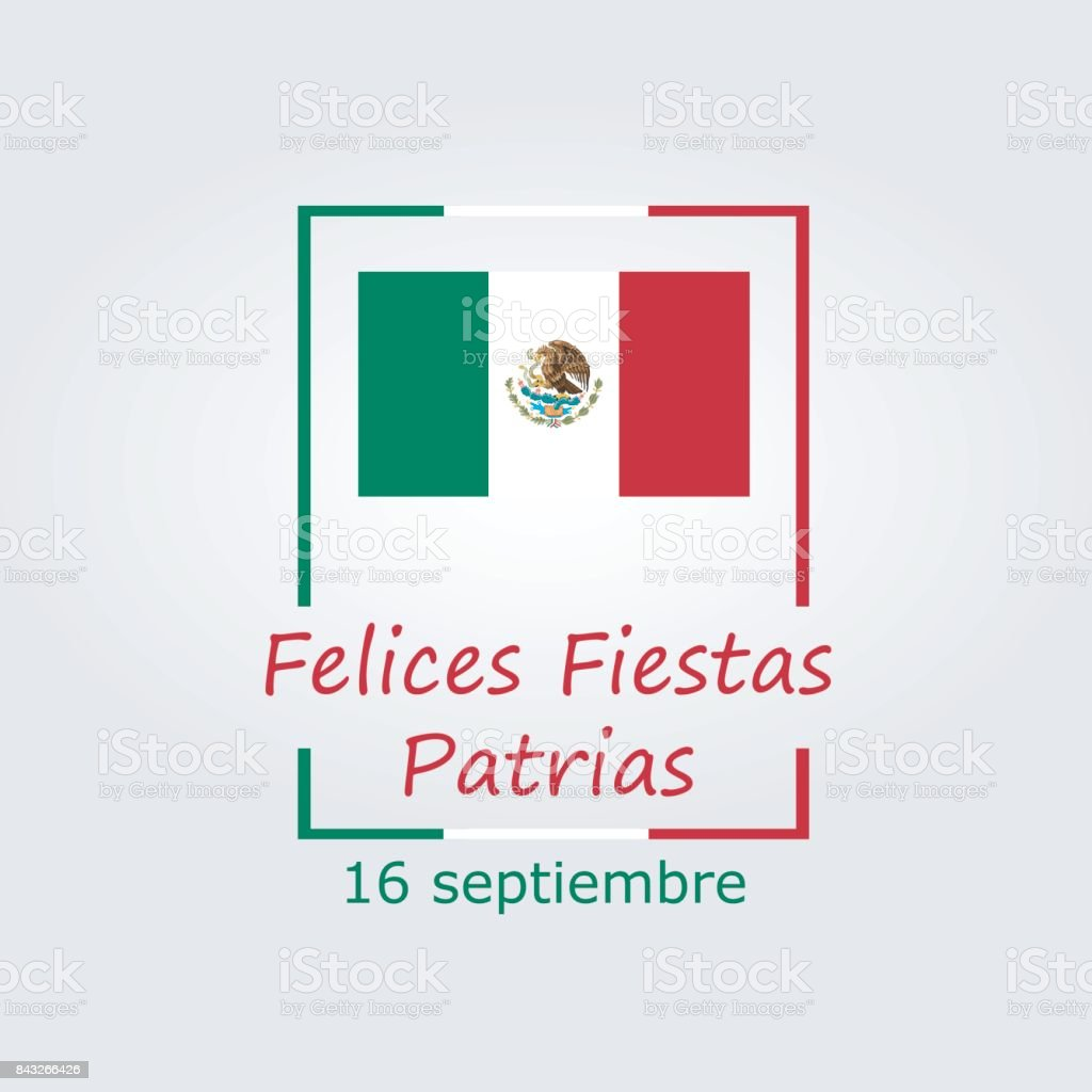 Mexico independence day greetings card modern design in the colors mexico independence day greetings card modern design in the colors of the mexican flag kristyandbryce Gallery