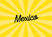 istock Mexico Lettering Design 1136076760