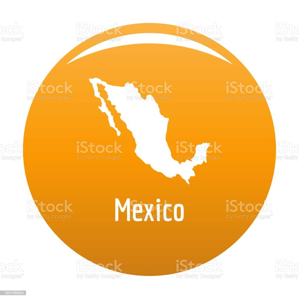 Mexico Map In Black Vector Simple Stock Vector Art More Images Of