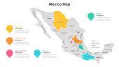 Mexican menu with Nachos, Quesadillas, Burritos, Tacos, Tamales & Tequilas.