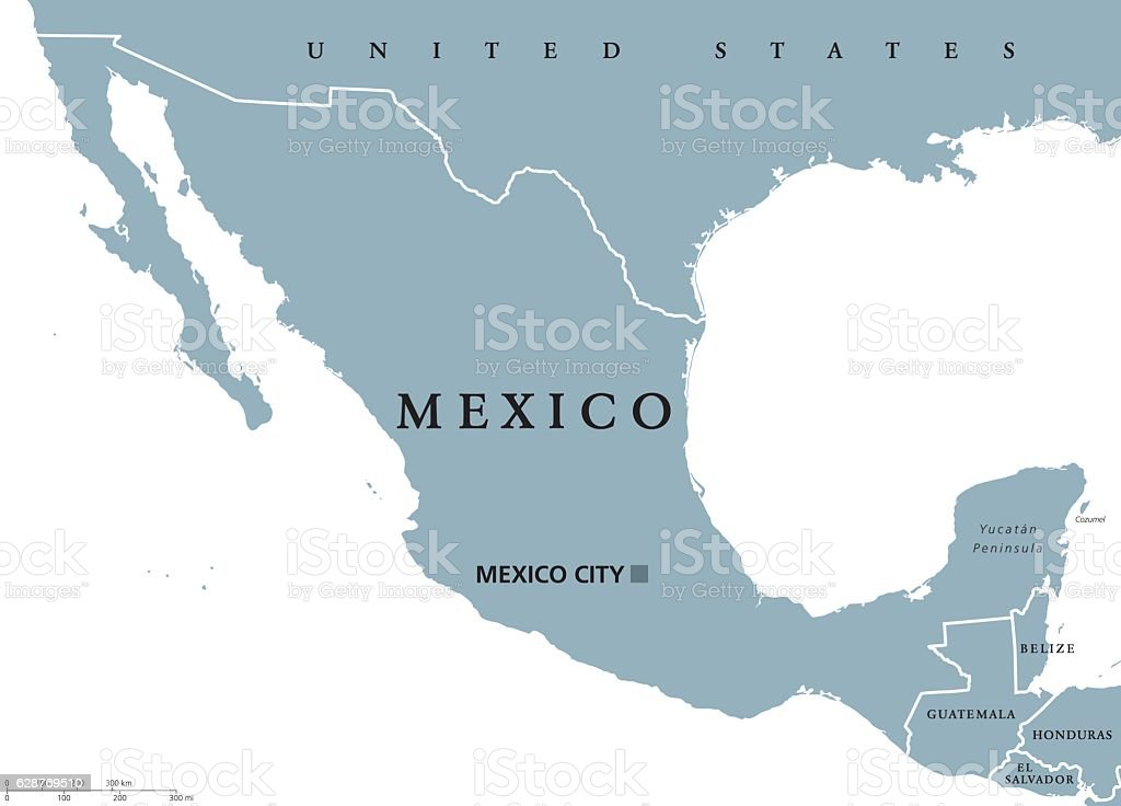 mexico political map royalty free mexico political map stock vector art more images