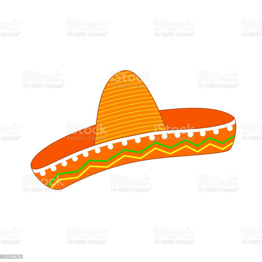 Mexico Sombrero Cartoon Mexican Hat Stock Illustration Download Image Now Istock