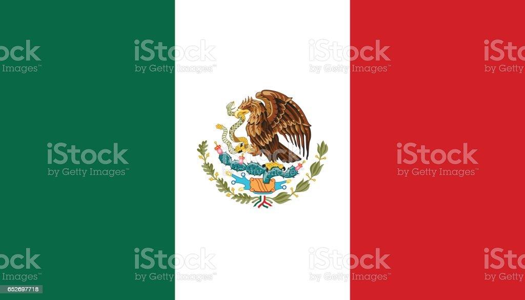 O México - ilustração de arte em vetor